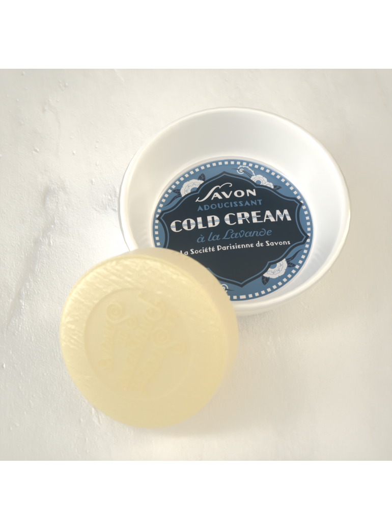 Porte-Savon Cold Cream
